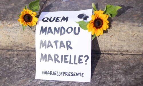 Pedido de justicia por el asesinato de Marielle Franco